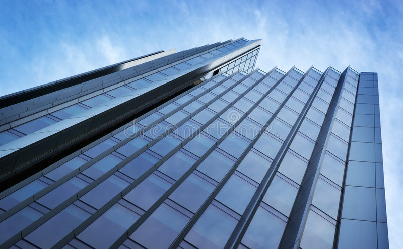 Abstract skyscraper stock image