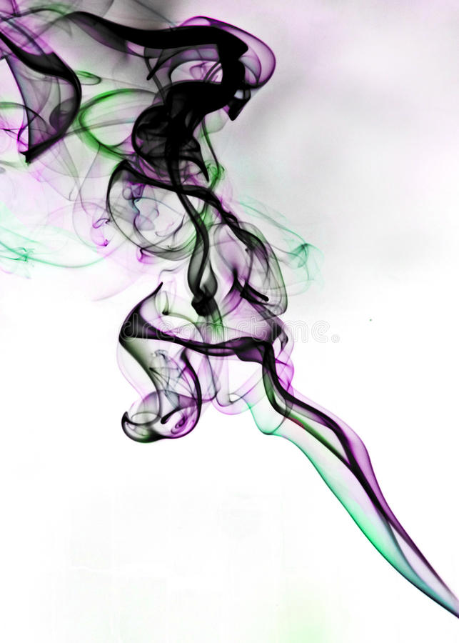 Abstract Smoke. A photo of abstract smoke effect royalty free stock image