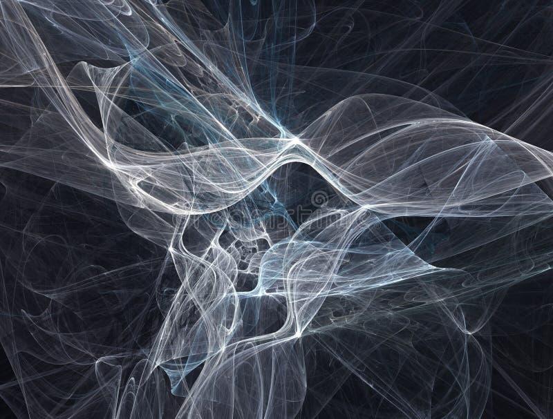 Abstract smoke royalty free illustration