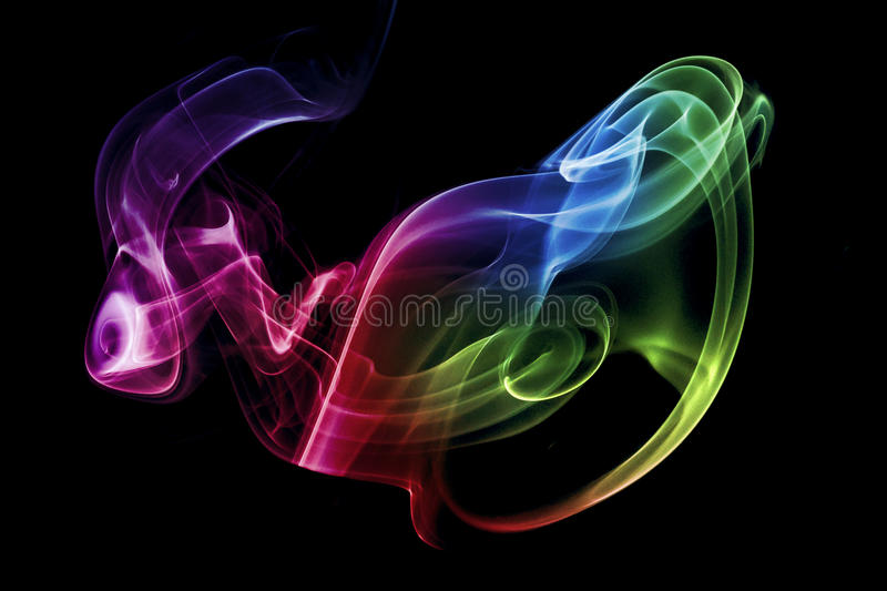Abstract smoke art royalty free stock images
