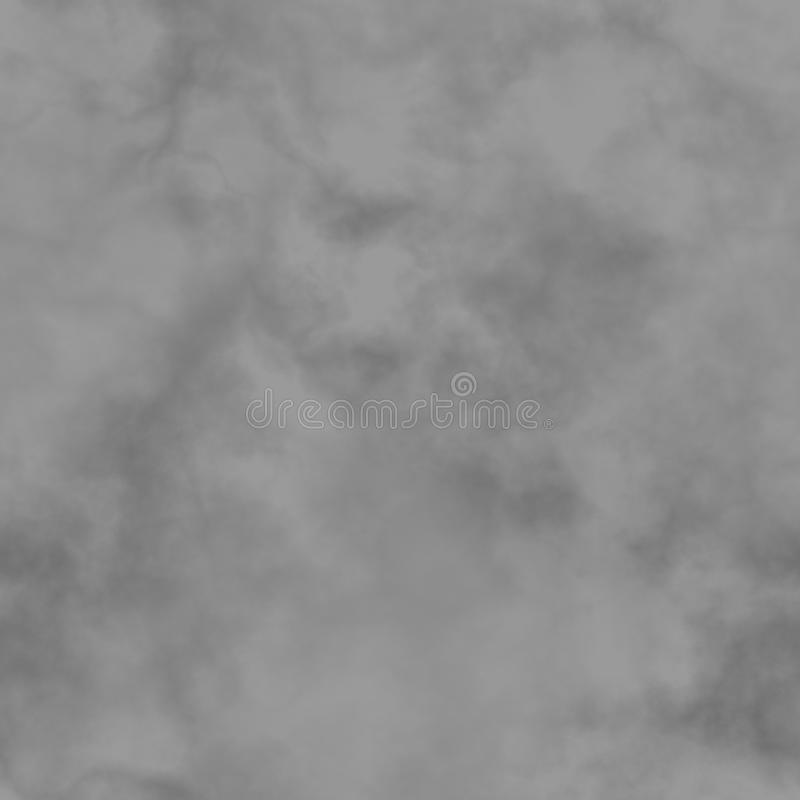 Abstract smoke, Black and white clouds, Cloudy sky, Gray blurry pattern, Grey foggy texture background, Seamless illustration. Abstract smoke, Black and white royalty free stock photos