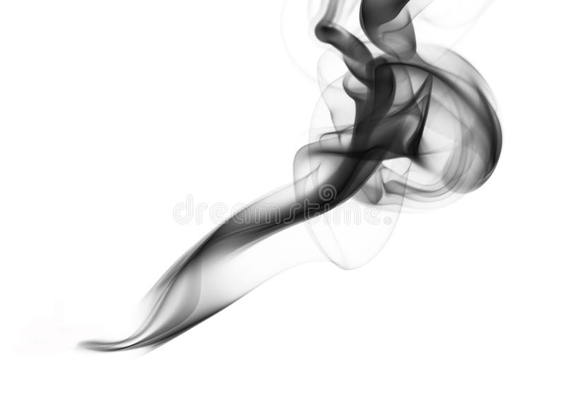 Abstract smoke shapes stock photography