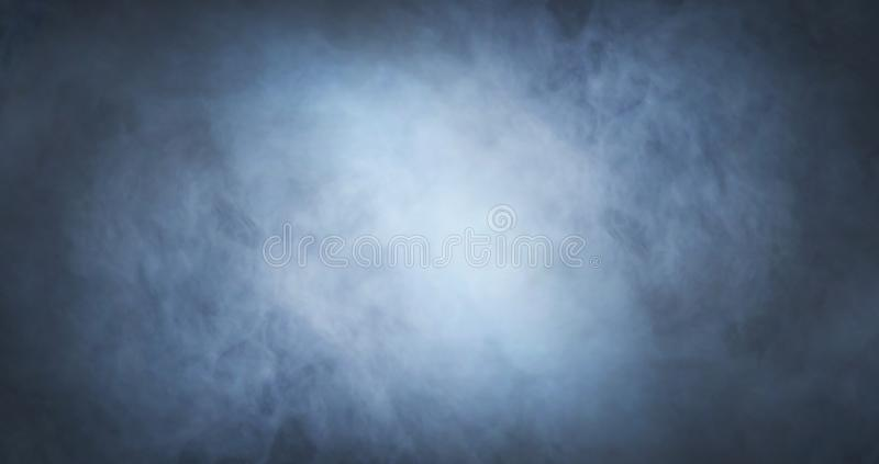 Abstract smoke texture over black background. Fog in the darkness. stock photos