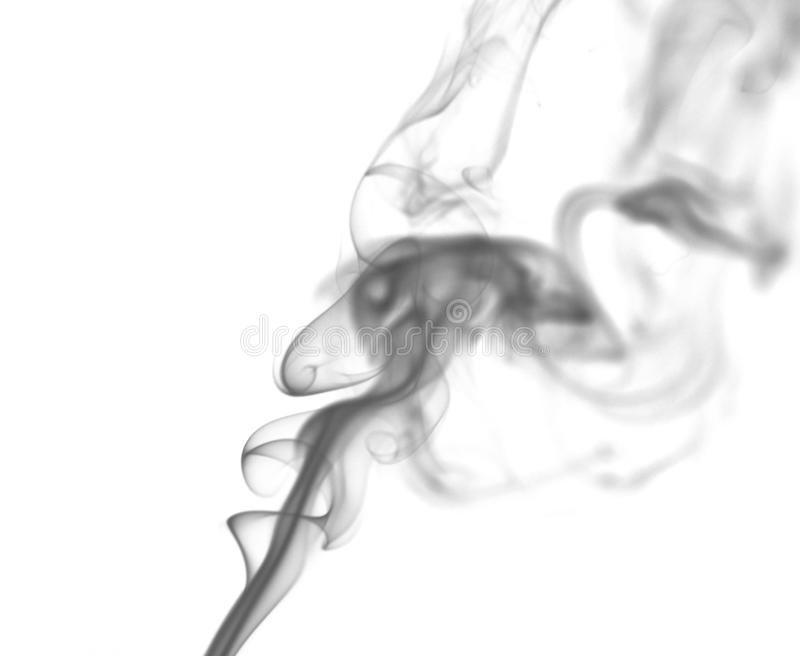 Abstract Smoking white. Explosive powder white Smoke on black background. Fire, flow. Abstract Smoking.Explosive powder black Smoke on white background royalty free stock photo