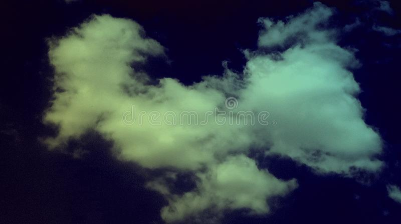 Abstract smoky clouds blue light green color mixture effects Background. stock illustration