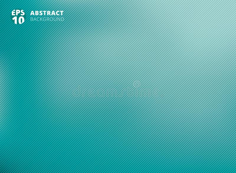 Abstract smooth green with diagonal lines background. royalty free illustration