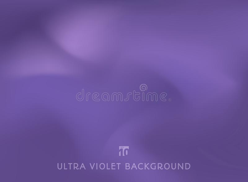 Abstract smooth ultraviolet trendy color background. Vector illustration vector illustration
