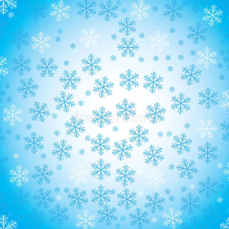 Download Abstract snow background stock vector. Illustration of january - 16759748