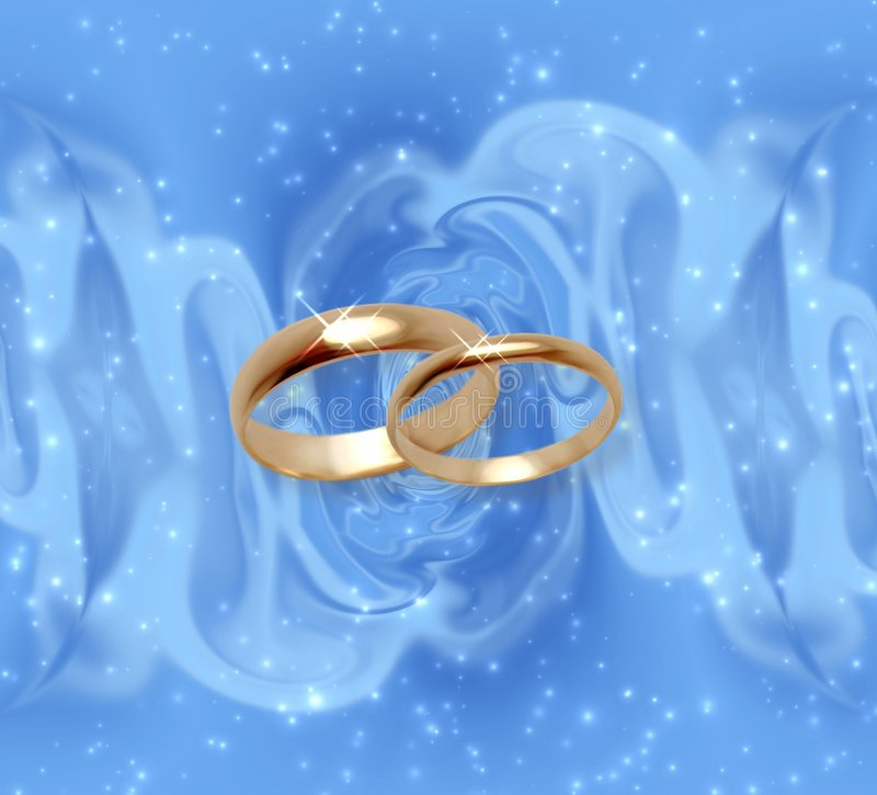 Download Abstract Snow Background With Wedding Rings Royalty Free Stock Images - Image: 514279