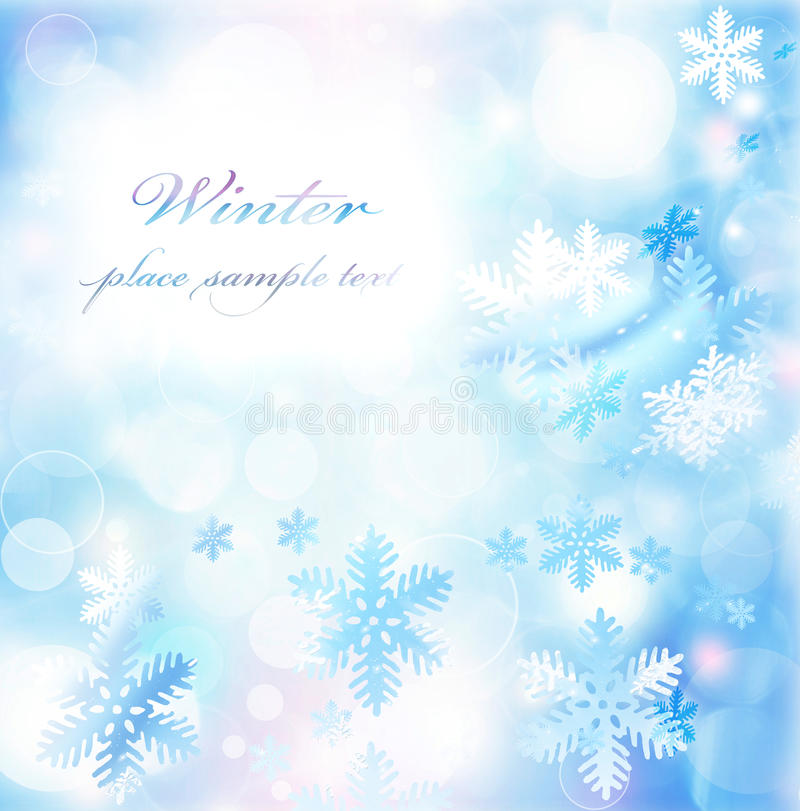 Free Abstract Snowflake Background Stock Photography - 22390742