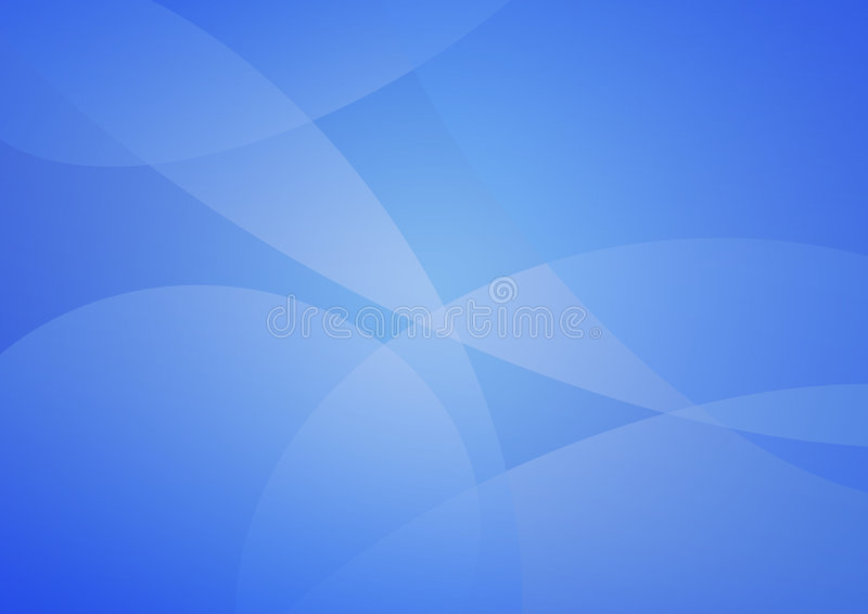 Abstract soft blue background royalty free illustration