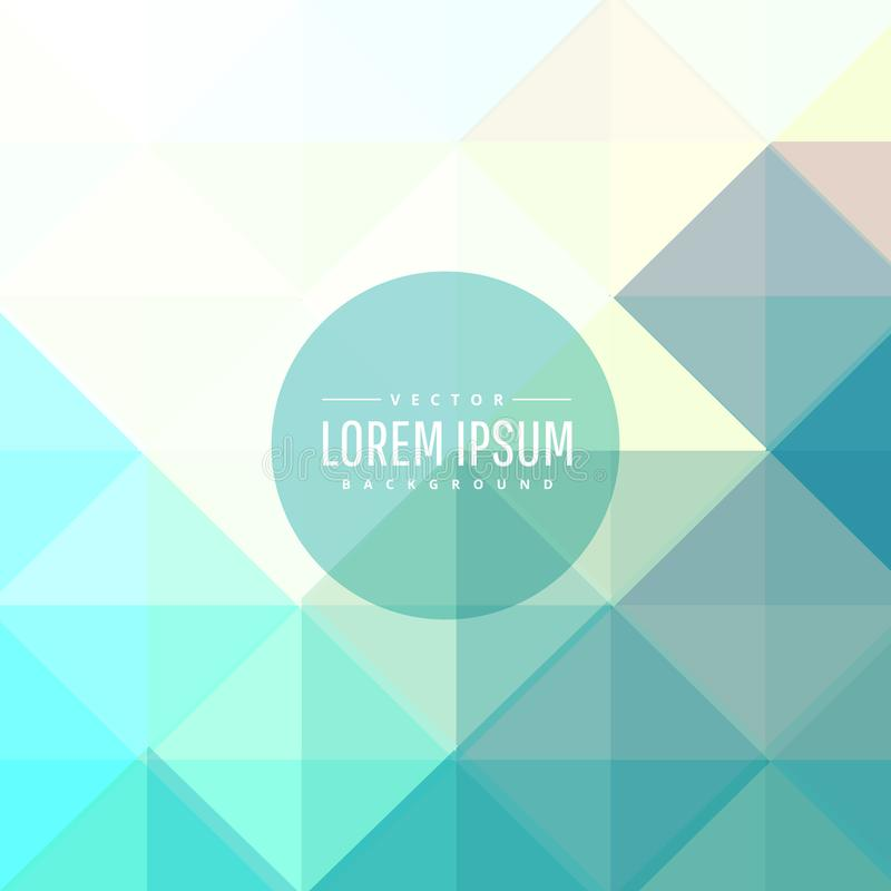 Abstract soft blue colors background vector illustration
