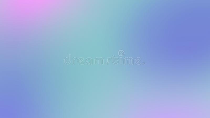 Abstract soft blue, purple blurred background, smooth gradient texture color royalty free illustration