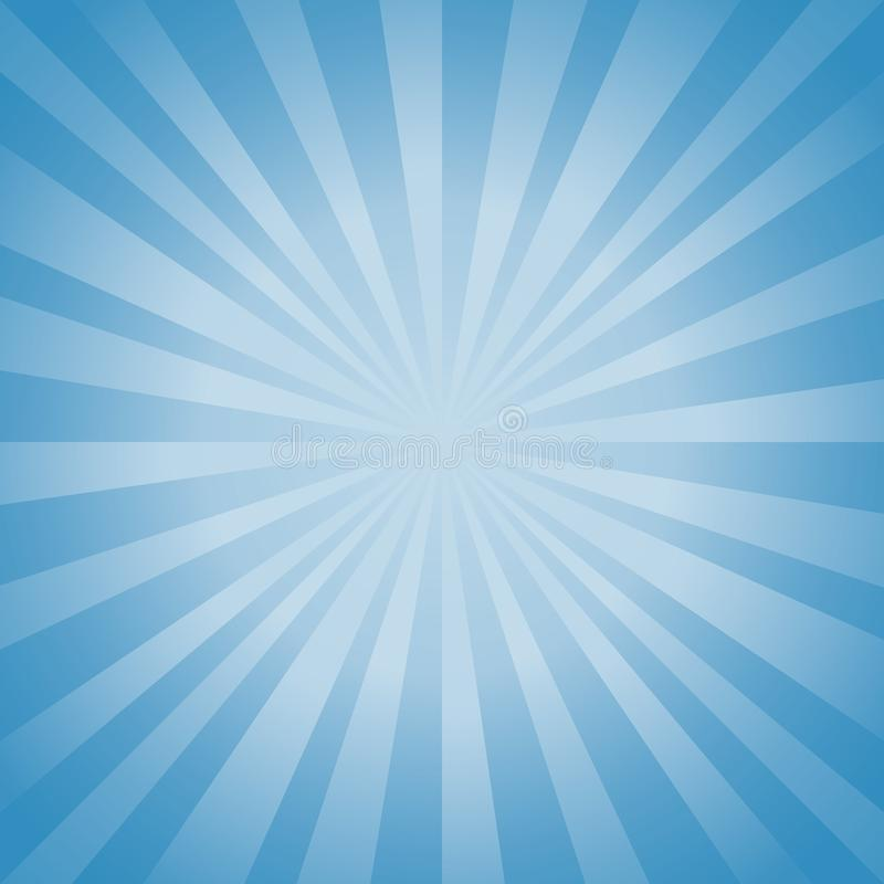 Abstract soft Blue rays background. Vector EPS 10, cmyk vector illustration