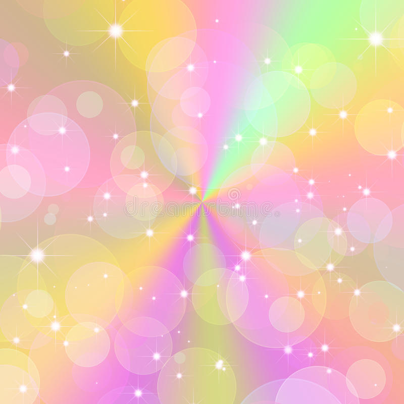 Abstract Soft Color Background Stock Illustration