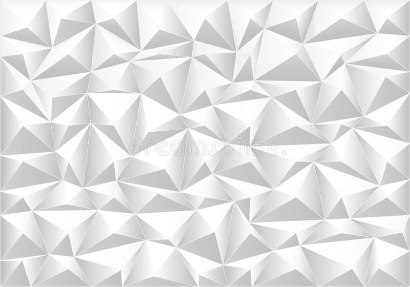 Abstract soft gray polygon pattern background texture vector vector illustration