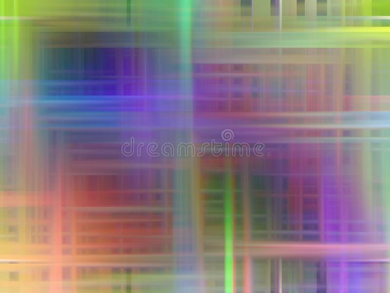 Abstract blue phosphorescent pink background, abstract forms and geometries. Abstract soft lines, geometries and background in orange green phosphorescent red vector illustration