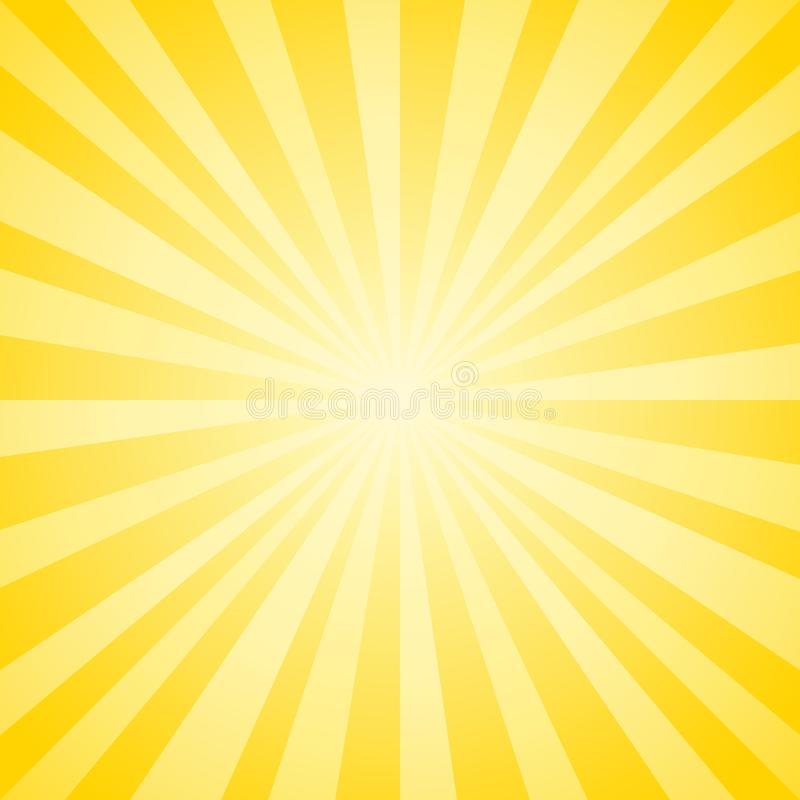 Free Abstract Soft Yellow Rays Background. Vector EPS 10, Cmyk Stock Image - 109247211