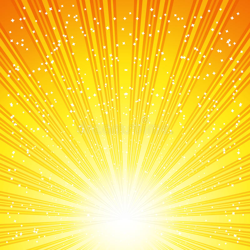 Abstract Solar Background royalty free stock images