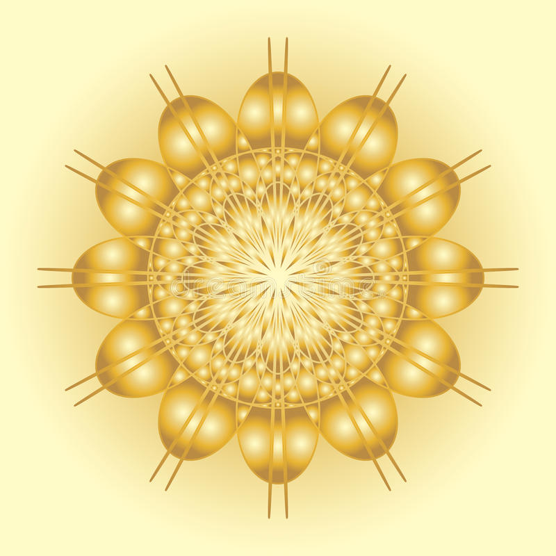 Abstract solar symbol stock photos