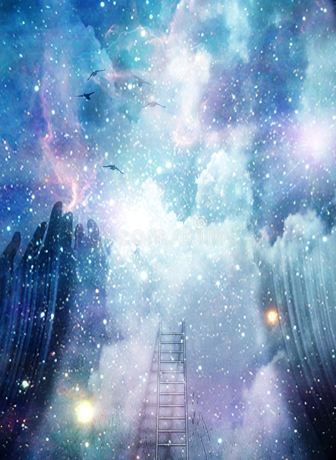 Abstract Space royalty free illustration