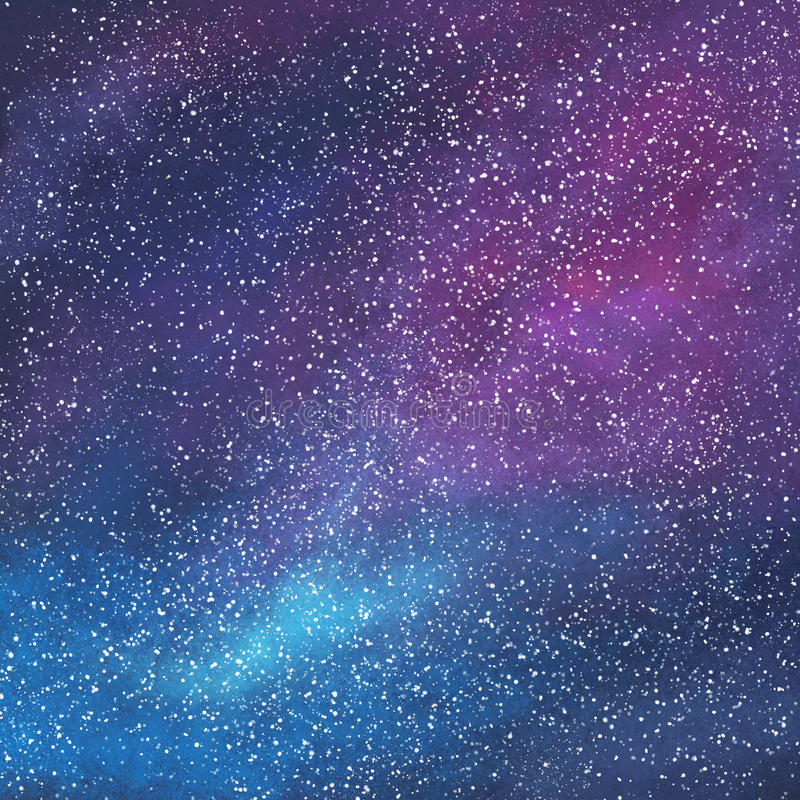 Download Abstract Space Galaxy Background Stock Illustration