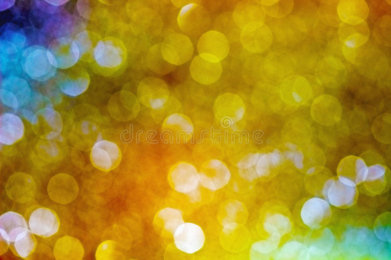 Abstract sparkling multi-colour blur background royalty free stock image