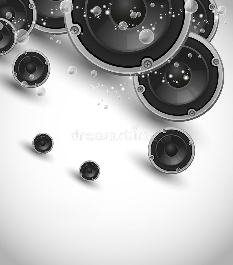 Free Abstract Speakers Design Stock Image - 21176371