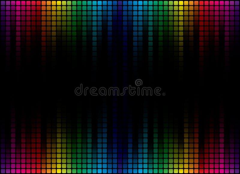 Abstract Spectrum Background stock illustration