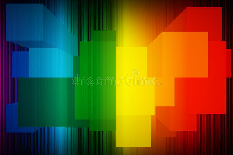Abstract Spectrum background royalty free stock images
