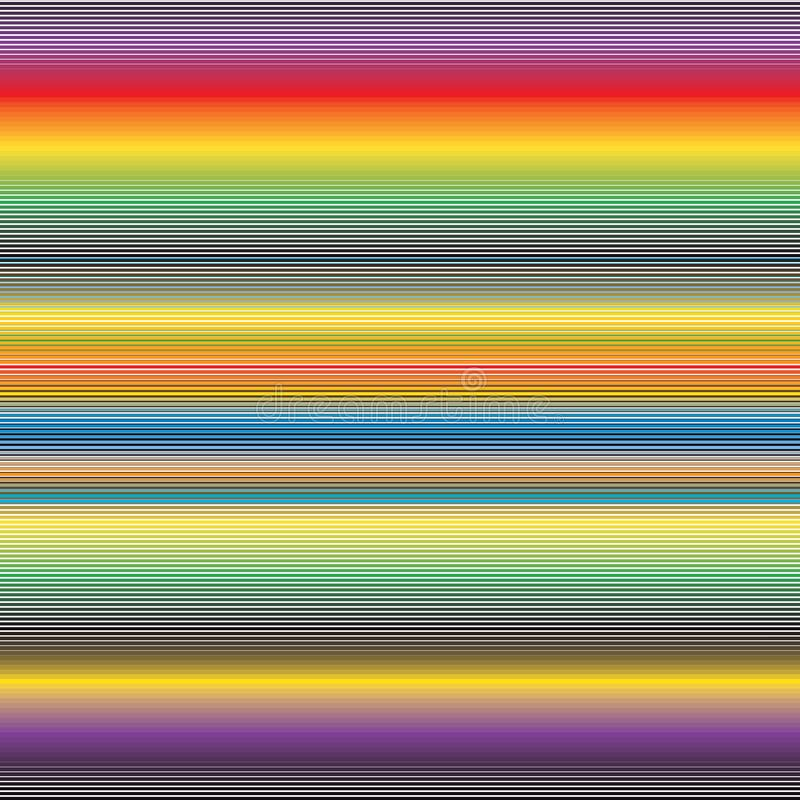 Abstract Spectrum Colorful Stripe Background Bright Vivid Pattern Texture vector illustration