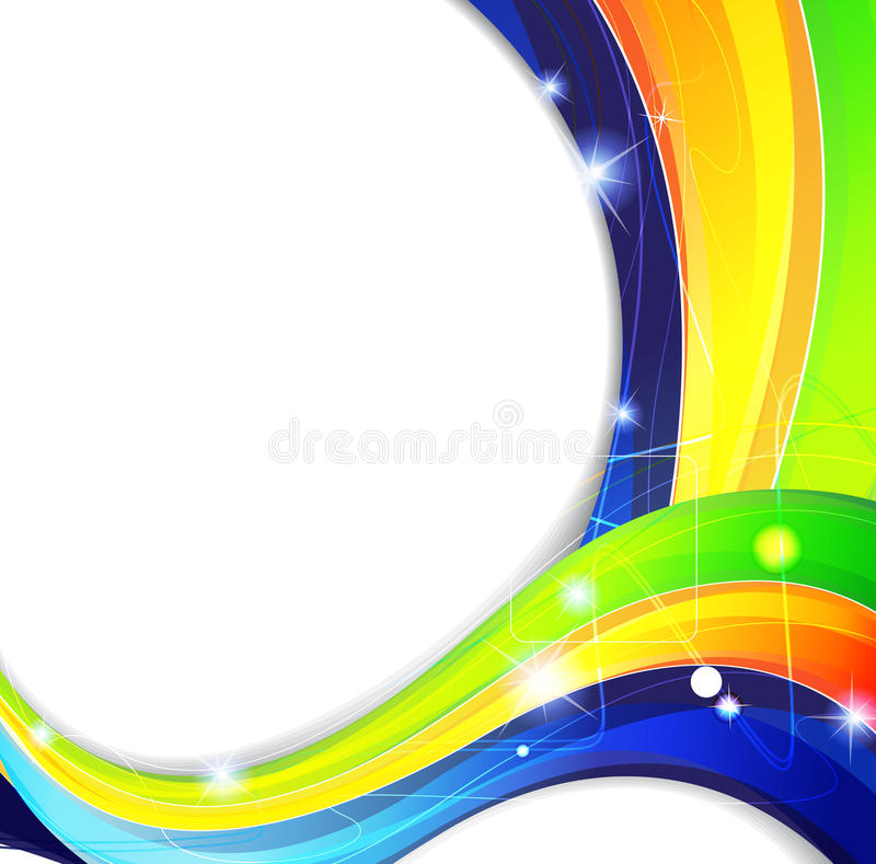 Download Abstract Spectrum Waves Royalty Free Stock Photography - Image: 25520077