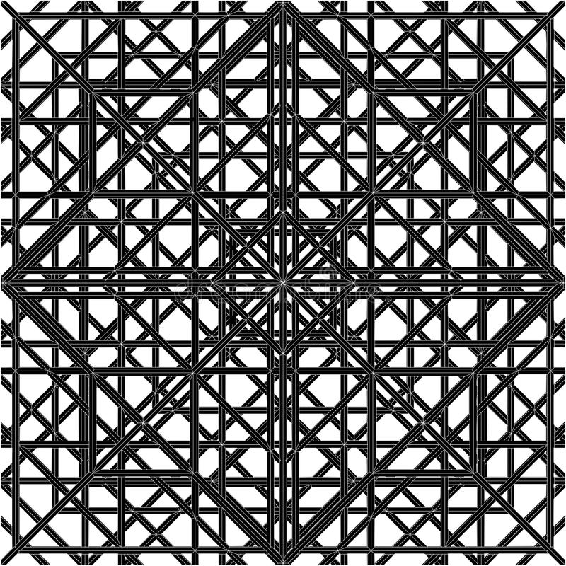 Abstract Spider Web Construction Structure Vector. Abstract Spider Modern Web Construction Structure Vector vector illustration
