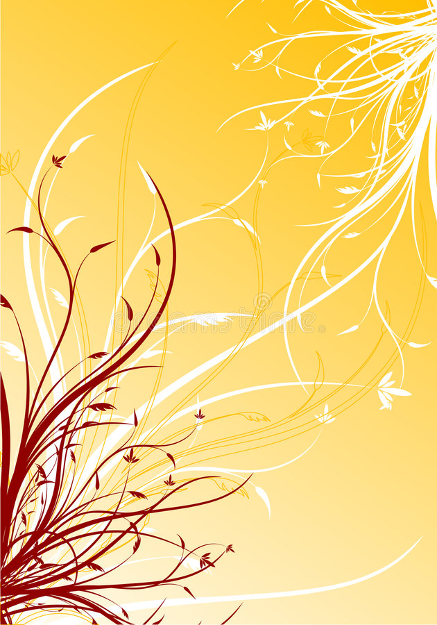 Download Abstract Spring Floral Decorative Background Vector Illustration Stock Vector - Image: 1969649