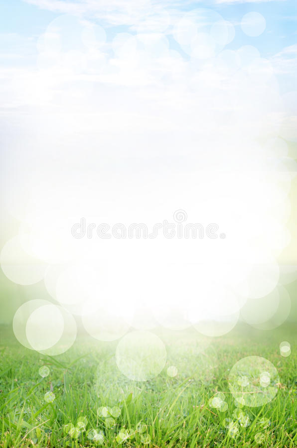 Free Abstract Spring Green Background And Light Reflect Royalty Free Stock Images - 19635249