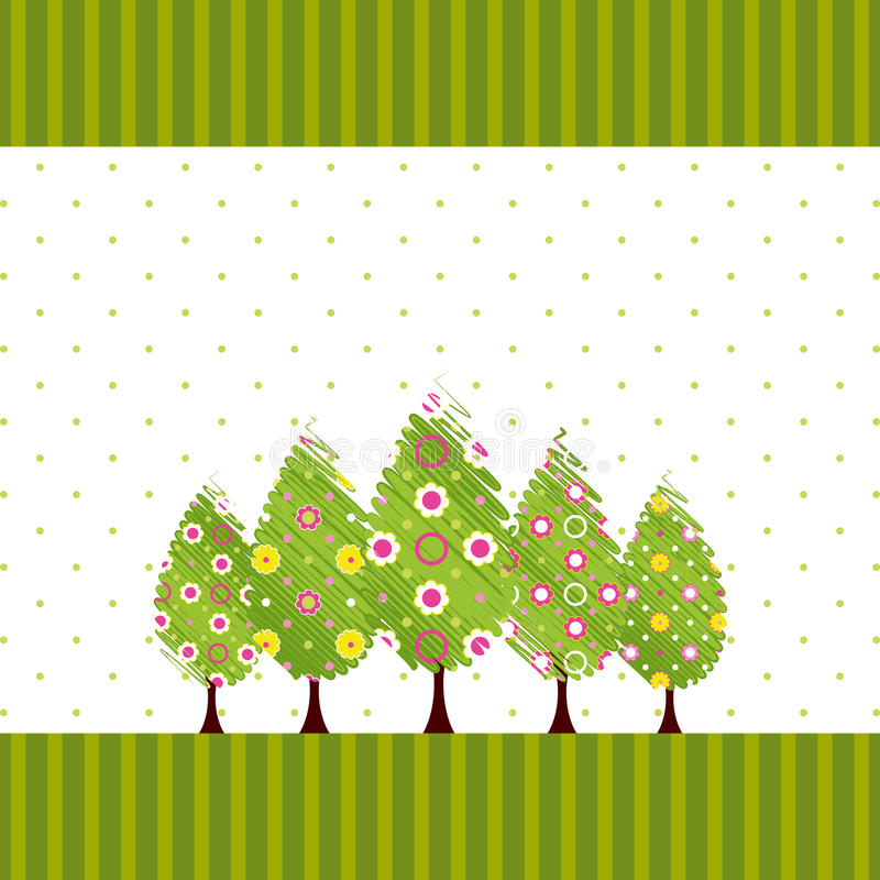 Download Abstract Springtime Blossom Tree Stock Vector - Image: 23880578