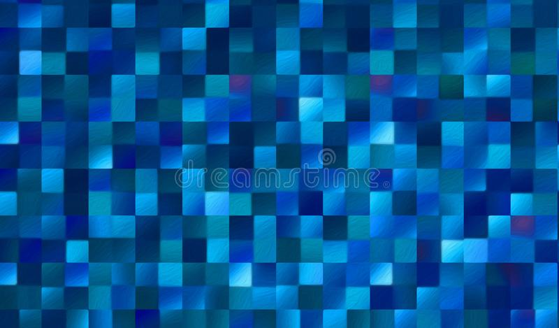 Abstract square blocks pattern background royalty free stock photo