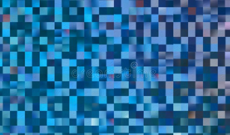 Abstract square blocks pattern background royalty free stock photography