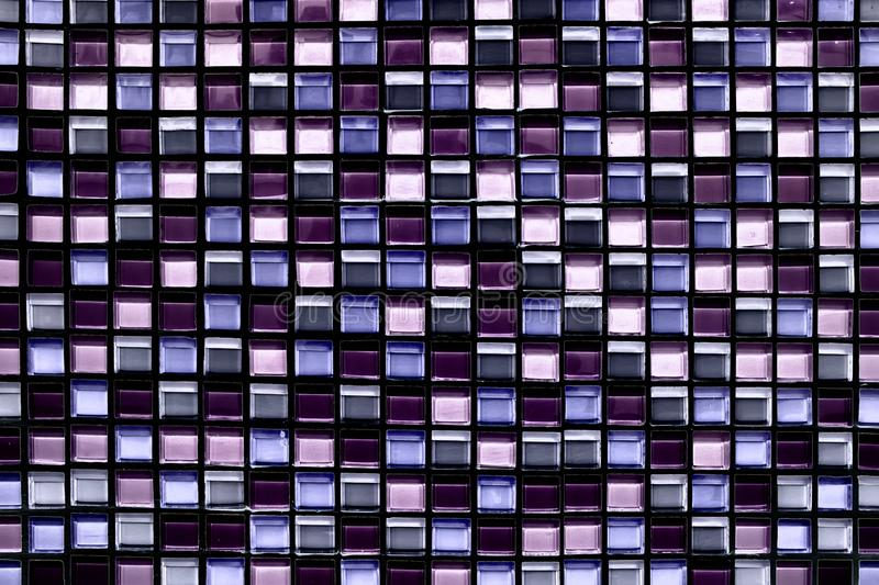 Abstract square pixel mosaic background and texture. Abstract square pixel mosaic wall background and texture royalty free stock image