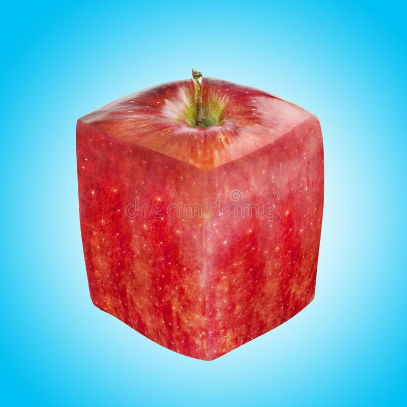 Download Abstract Square Red Apple Stock Photo - Image: 11040000