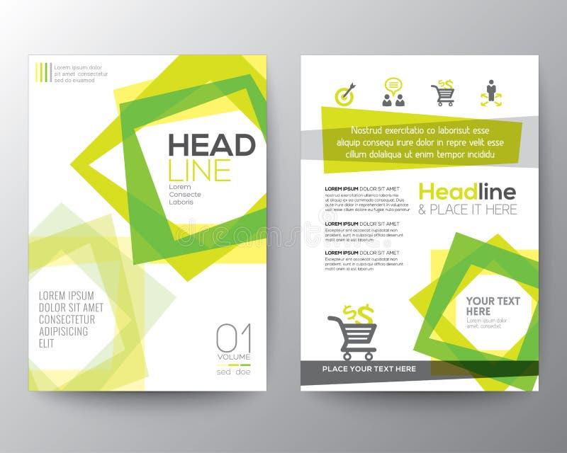 Abstract square shape background for Poster Brochure Flyer design vector illustration