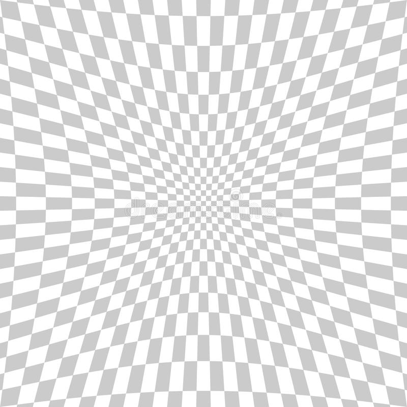 Abstract square tile perspective fish eye lens white and gray te. This is abstract square tile perspective fish eye lens white and gray texture background same royalty free illustration