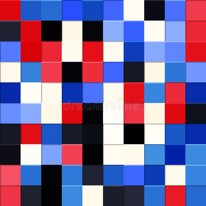 Abstract squares background. Vector, EPS10 stock illustration