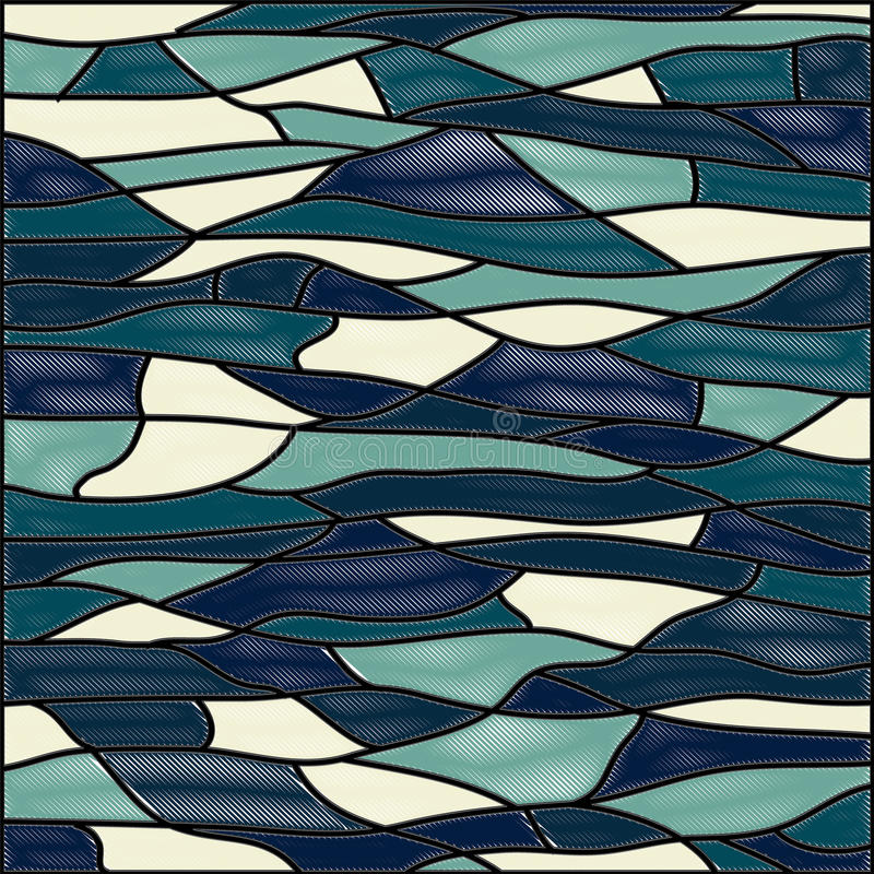 Abstract stained glass background.Vector stock images
