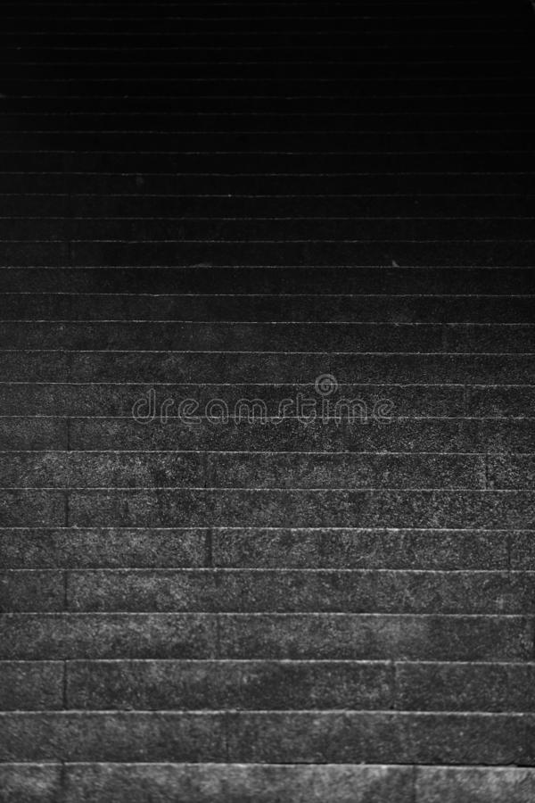 Abstract stairs in black and white. Building, light. stock photos