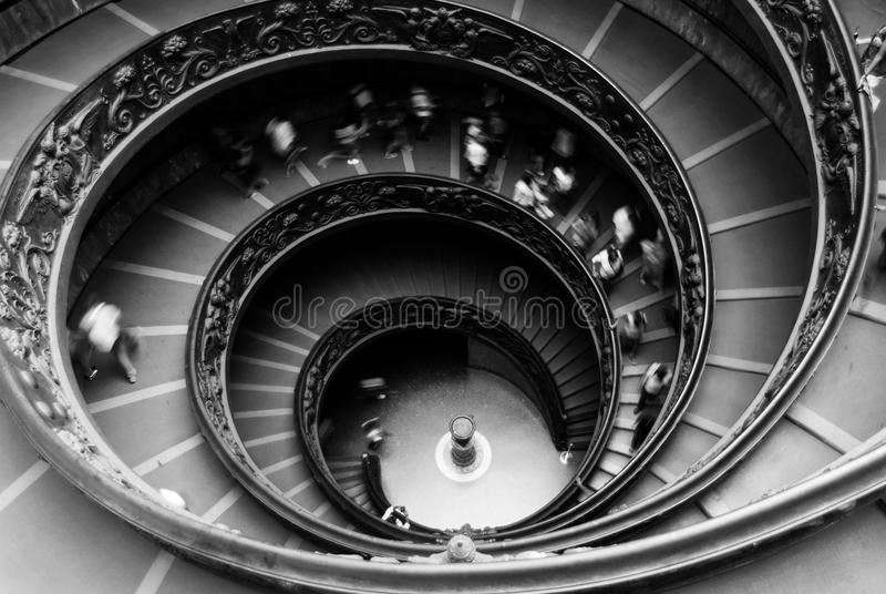 Abstract Stairs royalty free stock images