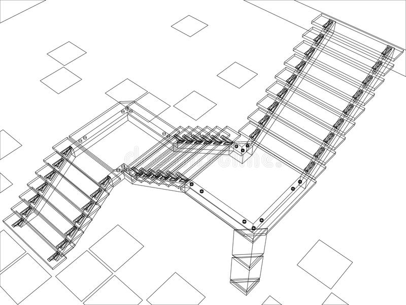 Download Abstract Stairs - Jpg Version Stock Image - Image: 22034411