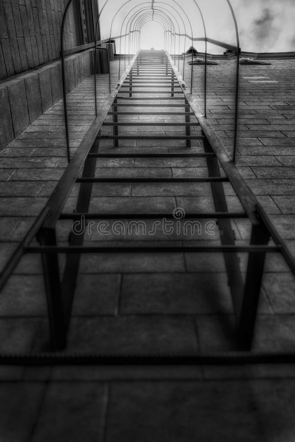 Abstract stairs stock photography