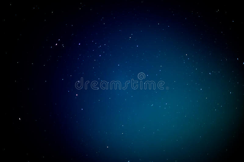 Abstract star on night sky royalty free stock photo