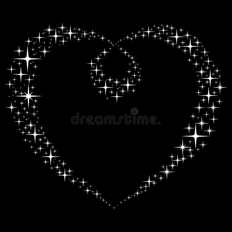Download Abstract Star's Heart.  Vector Illustration. Stock Vector - Image: 11012253